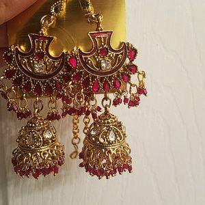 Bollywood earings